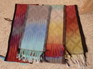 The first set of Summer Daze scarves