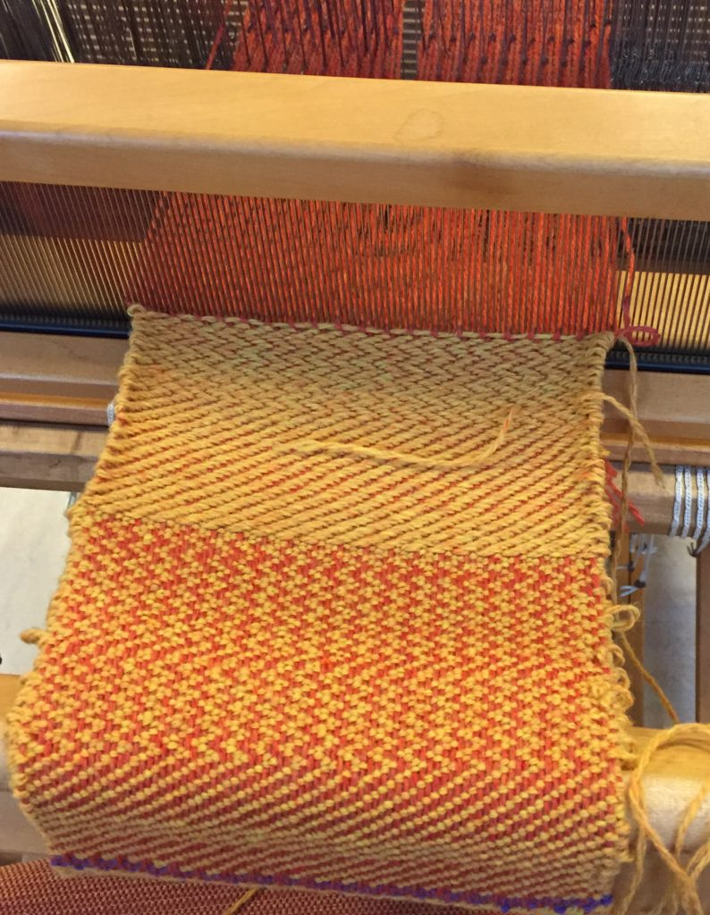 Weaving 101: Weaving Twill and Double Weave