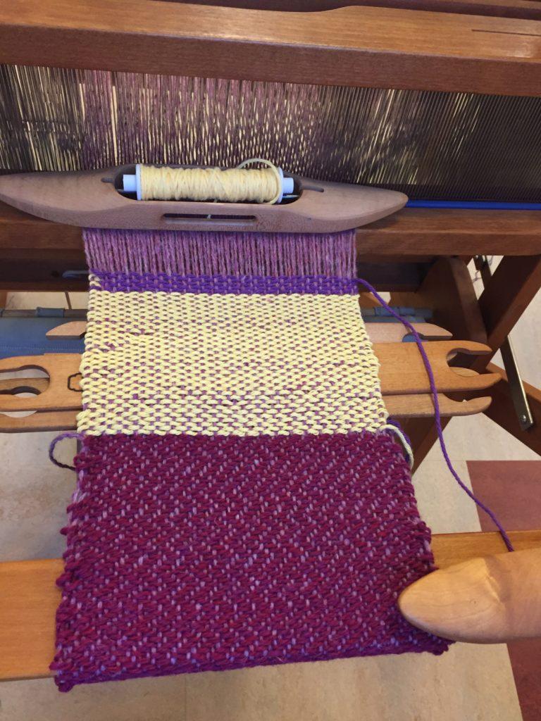 Weaving 101: Weaving Double Weave