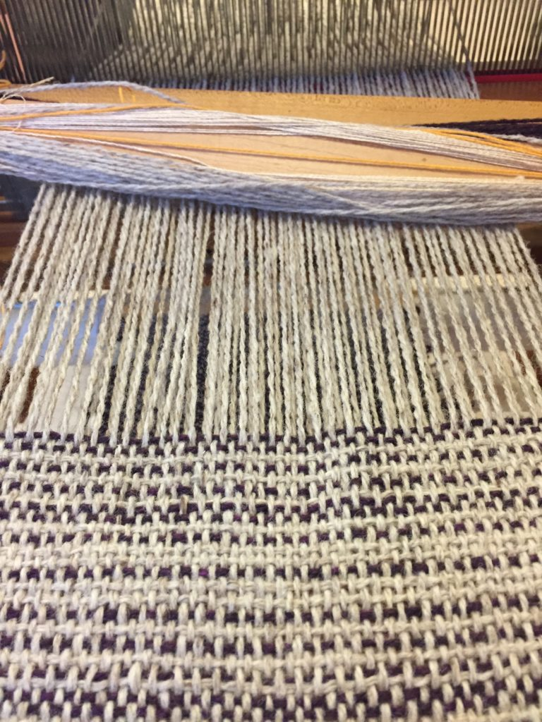 Weaving 101: Playing With Weft Stripes