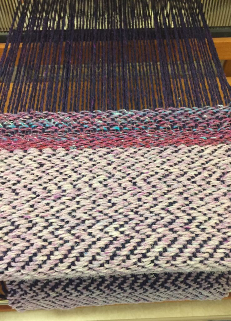 Weaving 101: Weaving Twill