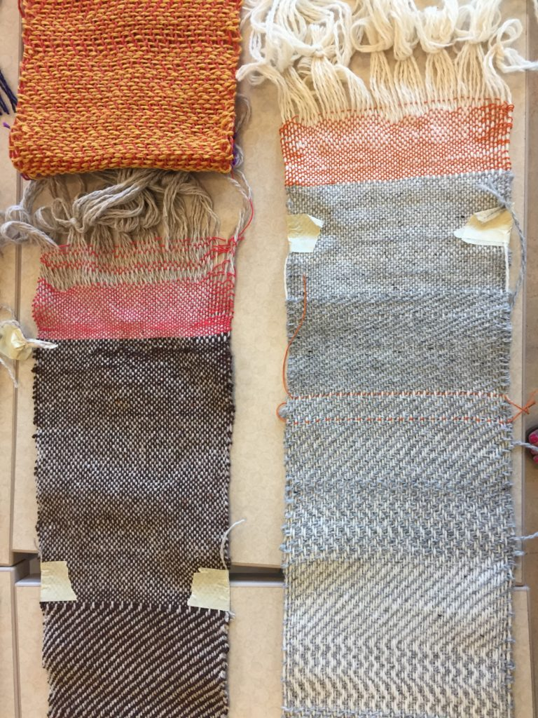MAFA 2019 Weaving 101 Finished Samples
