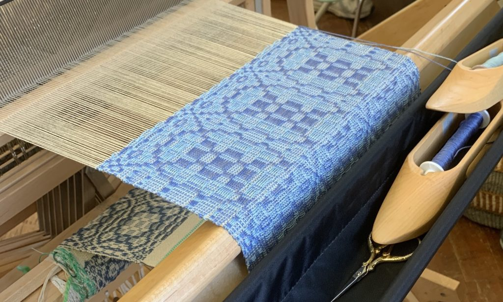 Whidbey Weavers Guild Overshot Class On Opposites Treadling