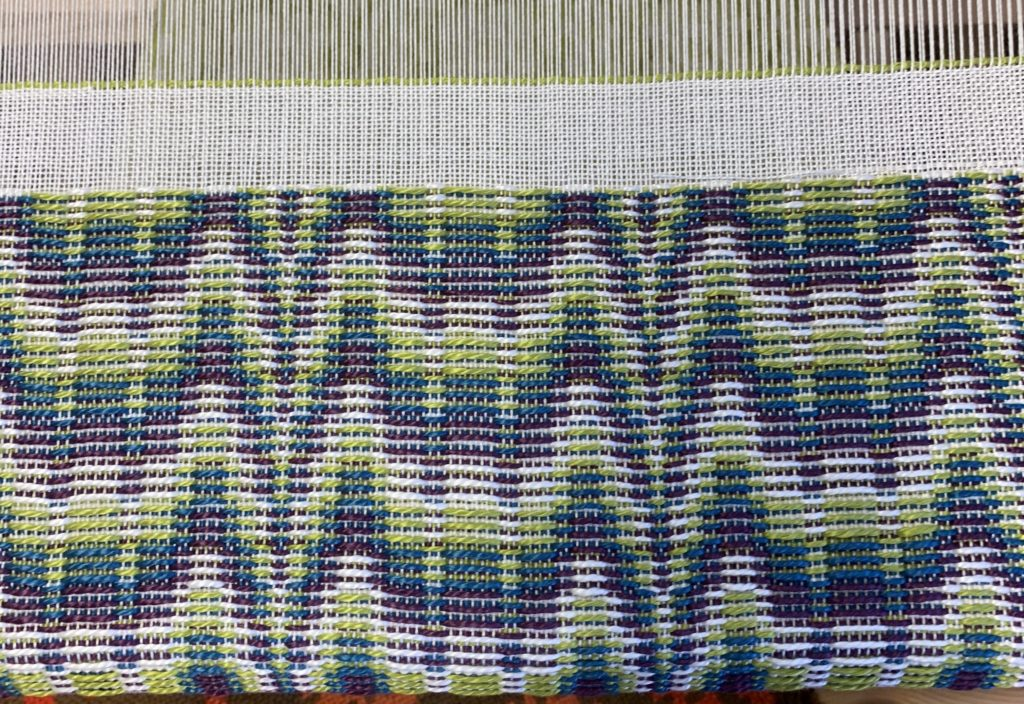 Whidbey Weavers Guild Overshot Class Flame Treadling